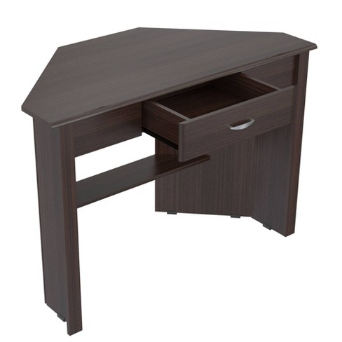 Corner Writing Desk Espresso - Inval - image 1 of 4
