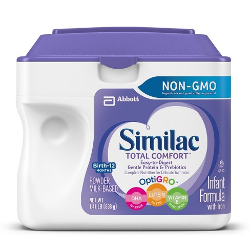 Similac Total Comfort Non-GMO Infant Formula Powder w/ Iron - 1.41lb - image 1 of 5
