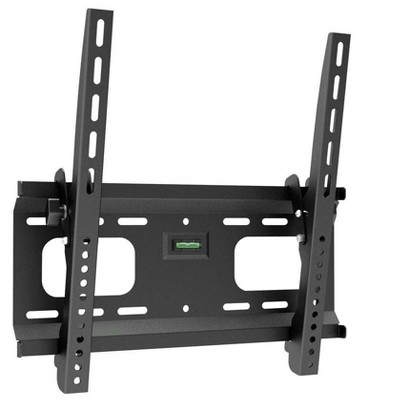 Monoprice Commercial Series Tilt TV Wall Mount Bracket For TVs 32in to 55in, Max Weight 165lbs, VESA Patterns Up to 400x
