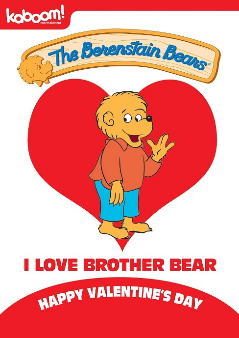 Berenstain bears:I love brother bear (DVD) - image 1 of 1