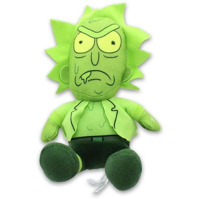 Johnny's Toys Rick & Morty 8 Inch Stuffed Character Plush | Toxic Rick