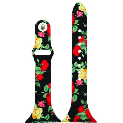 Olivia Pratt Printed Slim Style Apple Watch Band