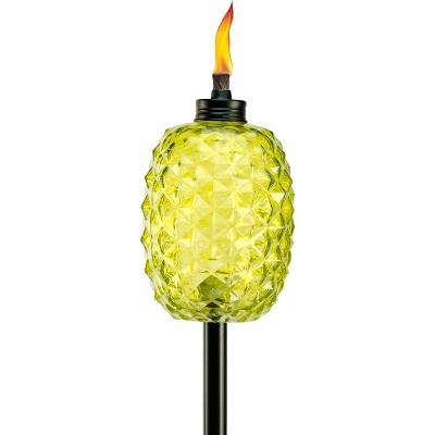 Aloha Pineapple Outdoor Torch -Tiki