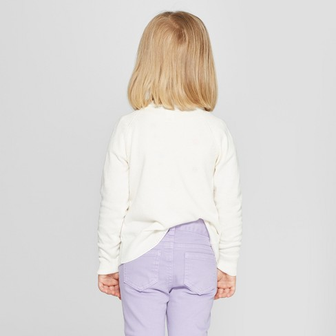 969d5259e05f Toddler Girls  Cardigan - Cat   Jack™ Almond Cream 4T   Target
