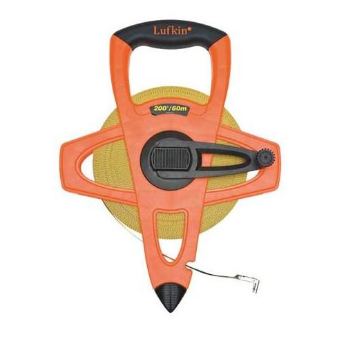 """CRESCENT LUFKIN FM060CME 200 ft. Tape Measure, 1/2"""" Blade, Orange/Black - image 1 of 1"""