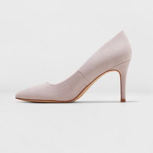 afdaf9d9c77 Women s Gemma Wide Width Pointed Toe Heeled Pumps - A New Day™ Lavender  6.5W   Target