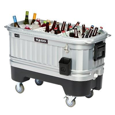 Igloo® Party Bar LED Illuminated Portable Cooler - 125 Quart