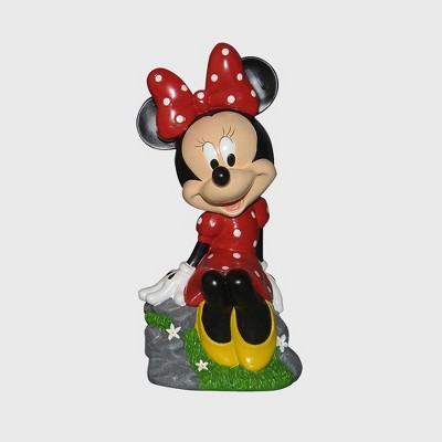 "Disney 12"" Minnie Mouse Sitting Resin Statue"