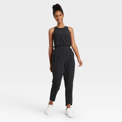 Women's Stretch Woven Sleeveless Jumpsuit - All in Motion™