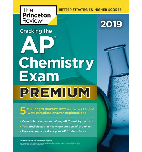 Princeton Review Cracking the AP Chemistry Exam 2019 -  Premium (Paperback) - image 1 of 1