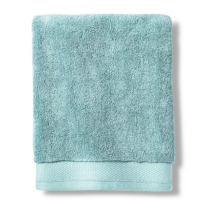 Hand Towel Reserve Solid Bath Towels And Washcloths Silver Blue - Fieldcrest®
