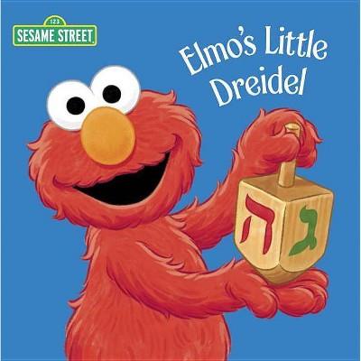 Elmo's Little Dreidel (Sesame Street) by Naomi Kleinberg (Board Book)