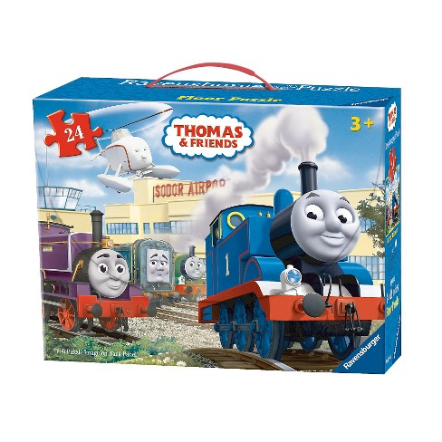 Ravensburger Thomas And Friends At The Airport Floor Puzzle 24pc - image 1 of 2