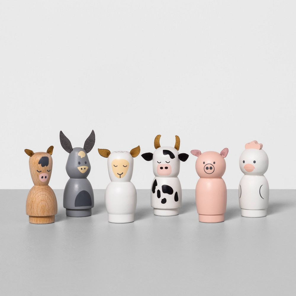 Image of 6pk Kids' Play Animals - Hearth & Hand with Magnolia
