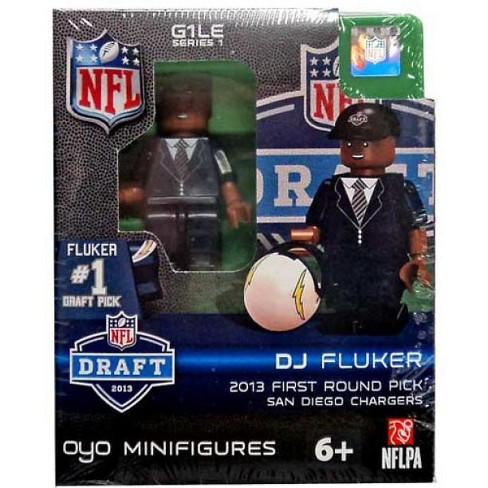 San Diego Chargers NFL 2013 Draft First Round Picks DJ Fluker Minifigure - image 1 of 2