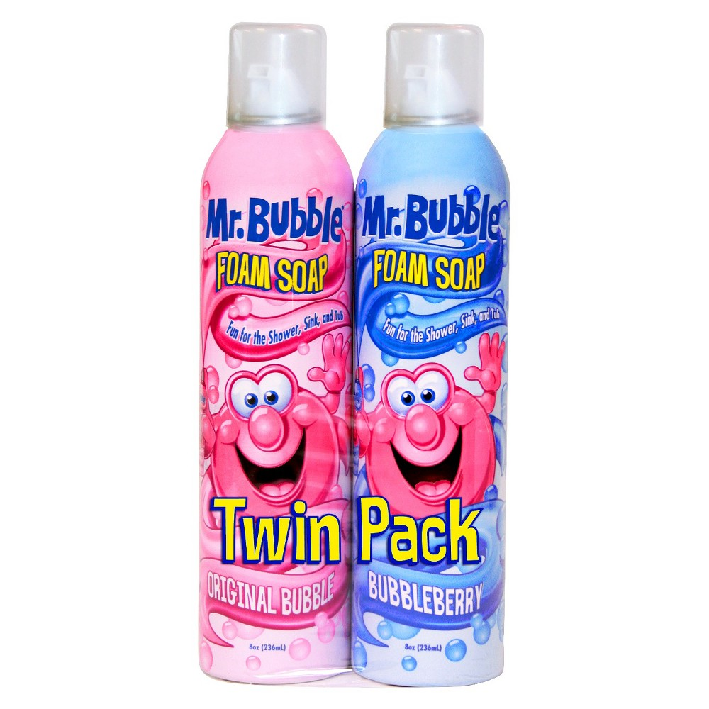 Image of Mr. Bubble Rotating Scents Foam Soap Twin Pack - 8oz/2pk