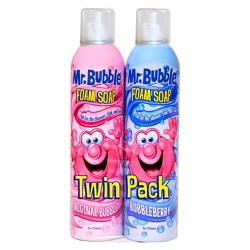 Mr. Bubble Rotating Scents Foam Soap Twin Pack - 8oz/2pk