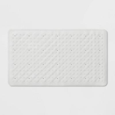28 x16  Rubber Bath Mat White - Made By Design™