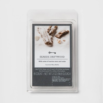 6ct Seaside Driftwood Scented Wax Melts - Threshold™