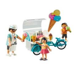 Playmobil Ice Cream Cart, mini figures