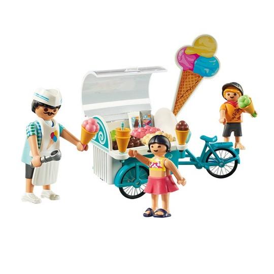 Playmobil Ice Cream Cart, mini figures image number null