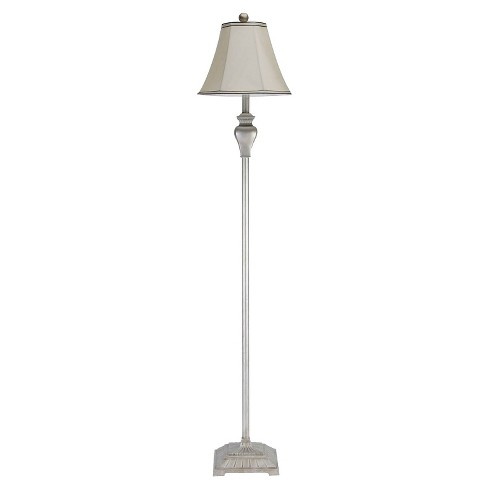 Abbyson Living Floor Lamp - Silver - image 1 of 5