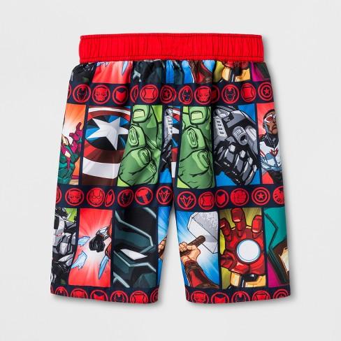 397aff07d1 Boys' Avengers Swim Trunks - XS : Target