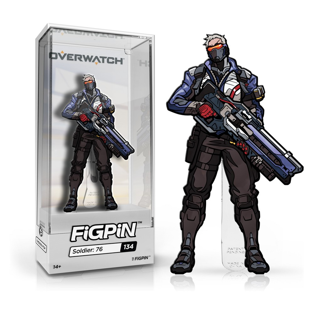FiGPiN Overwatch: Soldier 76, Multi-Colored