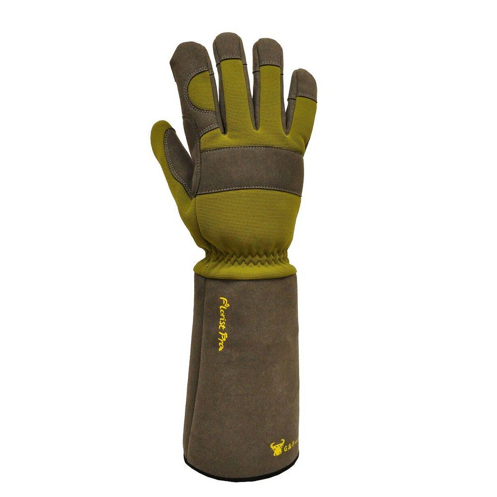 Thorn Resistant Garden Gloves - Men's Large - G & F, Multi-Colored