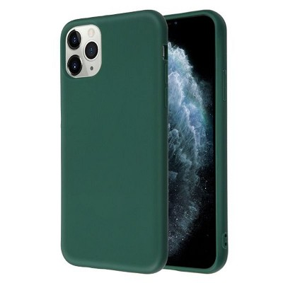 For Apple iPhone Case, by MYBAT Liquid Silicone Rubber Hard Snap-in compatible with Apple iPhone