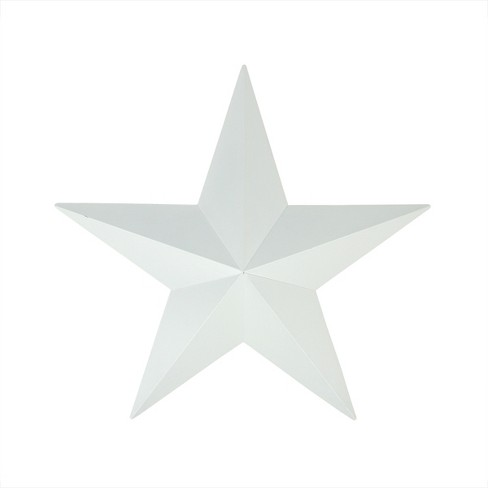 Northlight 3' White Rustic Star Indoor/Outdoor Wall Decoration - image 1 of 1