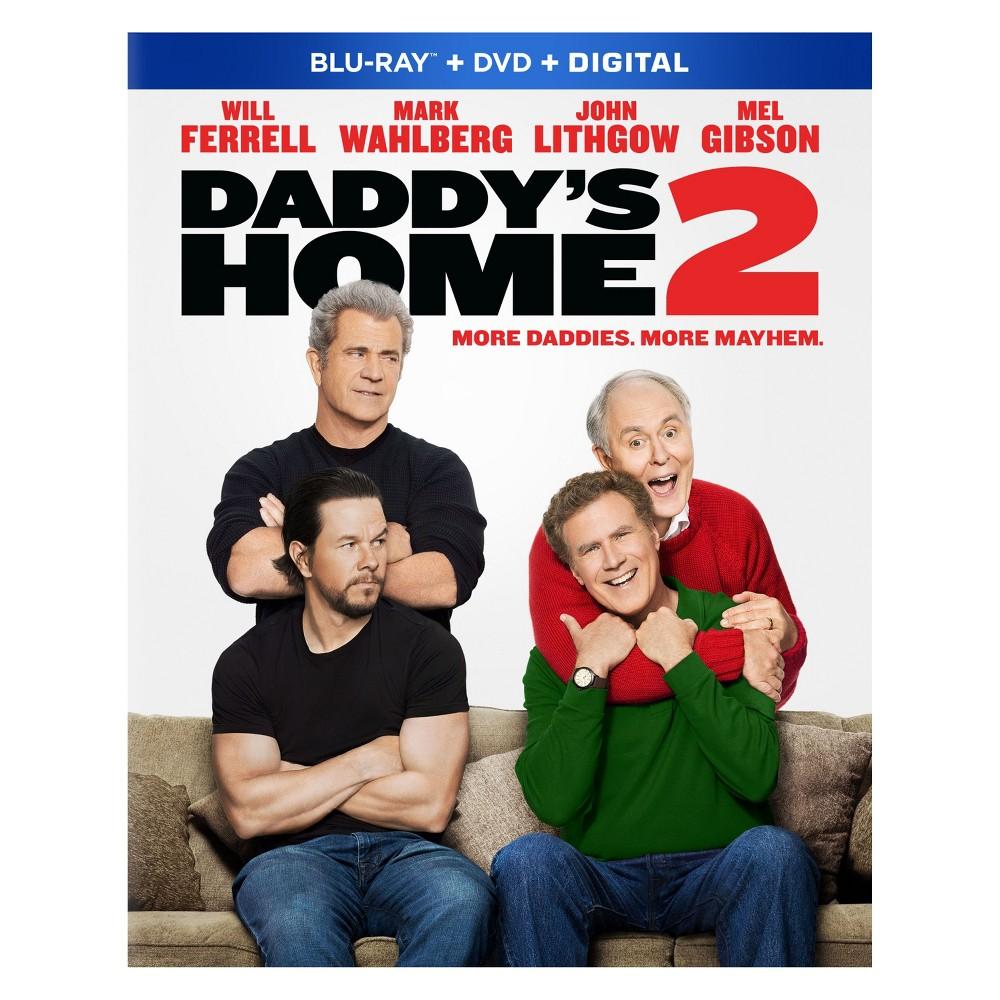 Daddy's Home 2 (Blu-ray + Dvd +Digital)