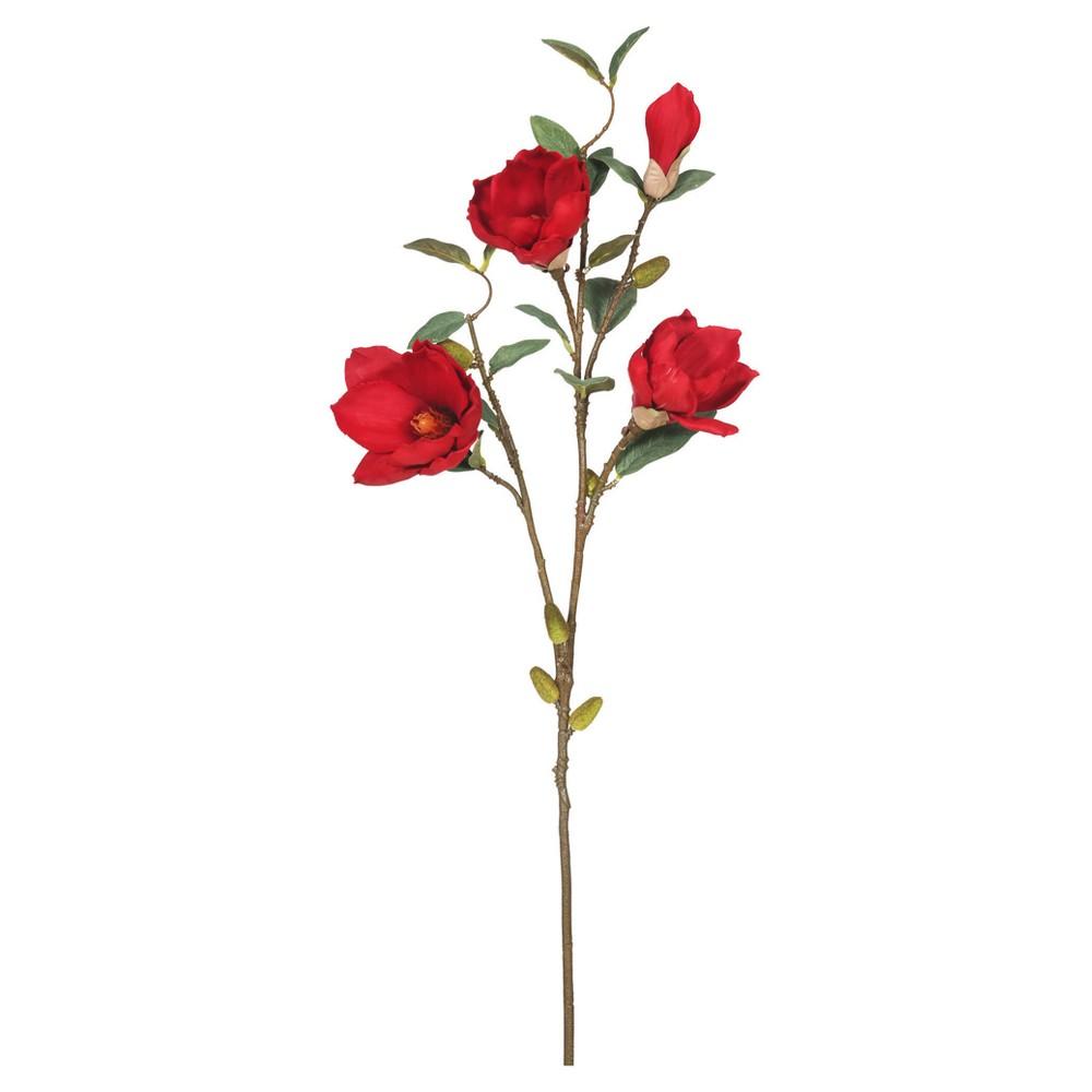 Image of Artificial (Pk/3) Magnolia Red - Vickerman