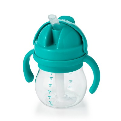 OXO Tot Transitions Straw Cup with Removable Handles - 6oz - Teal