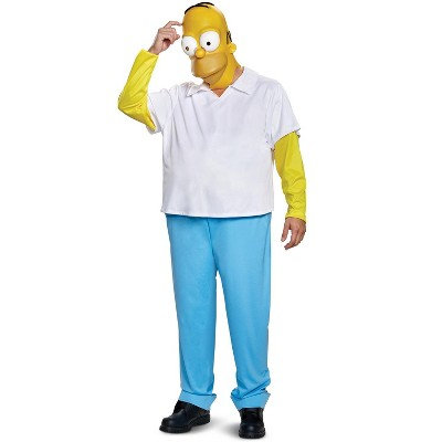 The Simpsons 2018 Homer Deluxe Adult Costume