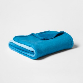 Toddler Ombre Blanket Blue - Pillowfort™