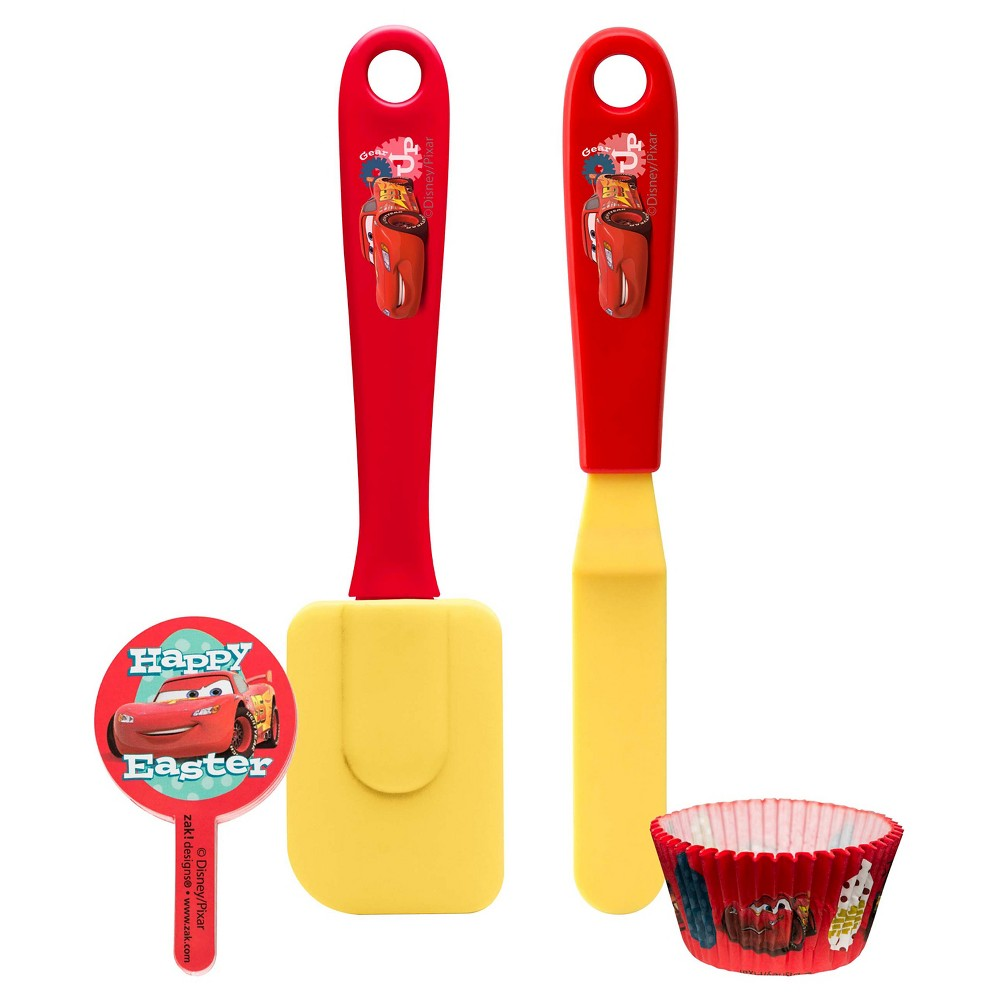 Image of Cars 4pc Cupcake Tool Set - Zak Designs