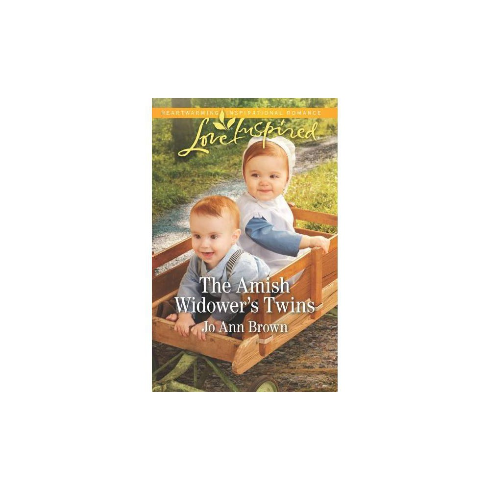 Amish Widower's Twins - Original (Love Inspired) by Jo Ann Brown (Paperback)