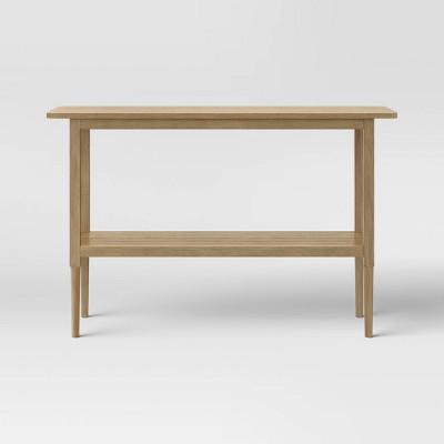 Gretna Narrow Console Table Natural - Threshold™