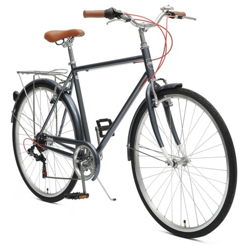 Critical Cycles Mens Beaumont 7-speed City Bike -54cm -Dark Silver - image 1 of 2
