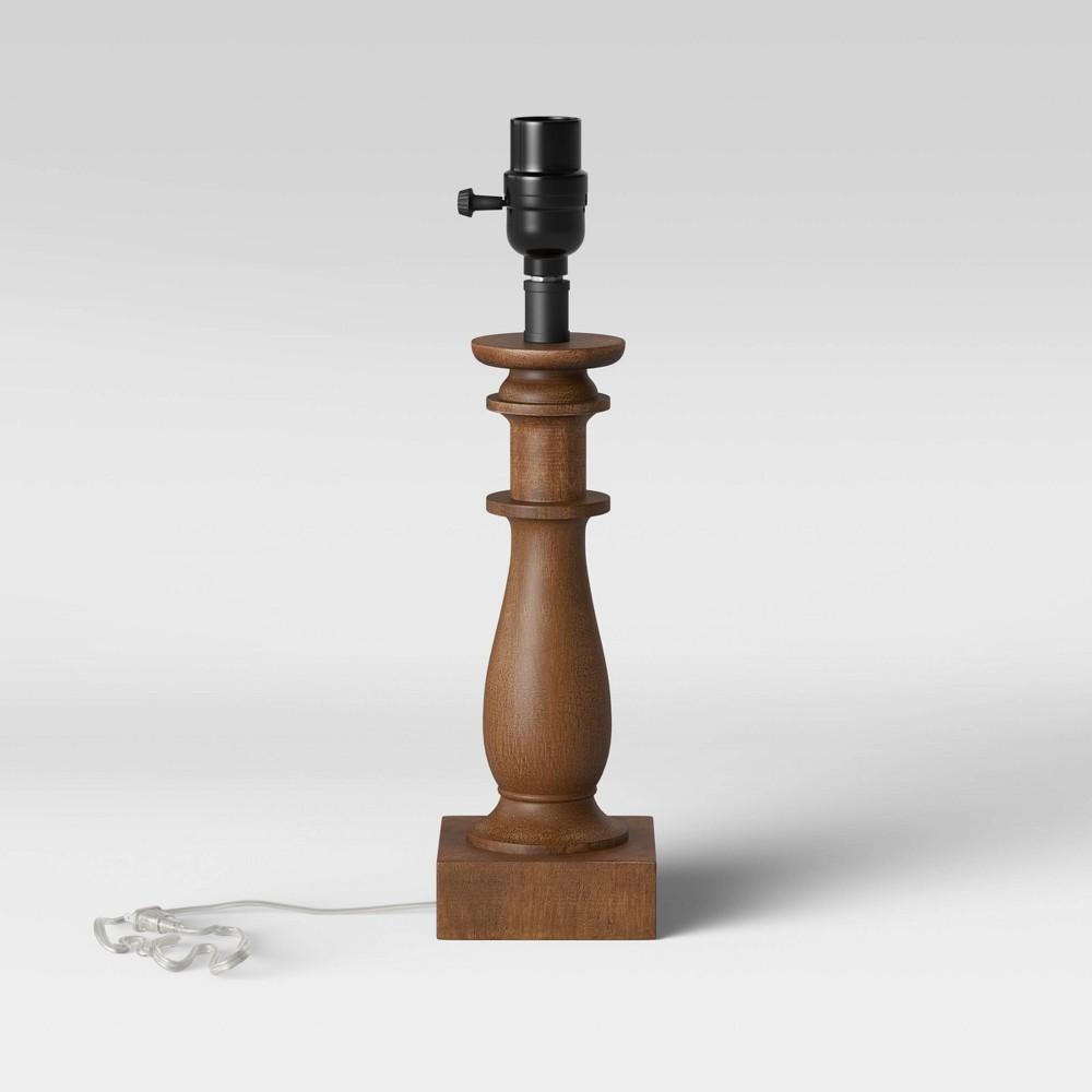 Small Lamp Base Brown Threshold 8482