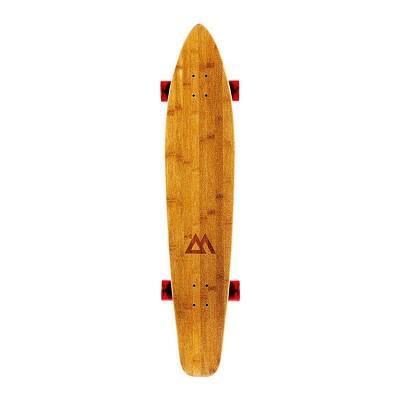 "Magneto Boards 44"" Kicktail Cruiser Skateboard - Red"