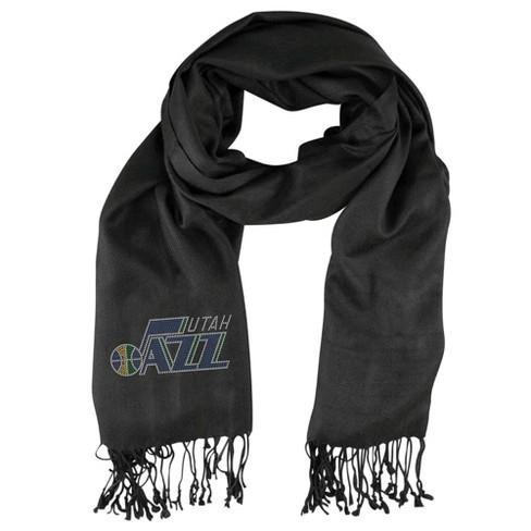 NBA Utah Jazz Black Pashi Fan Scarf - image 1 of 1
