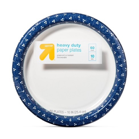"""Textured Dot Paper Plate 10"""" - 60ct - Up&Up™ - image 1 of 2"""