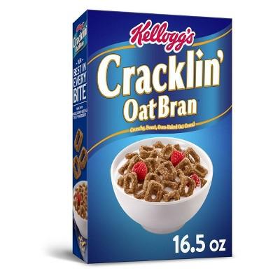 Cracklin' Oat Bran Breakfast Cereal - 16.5oz - Kellogg's