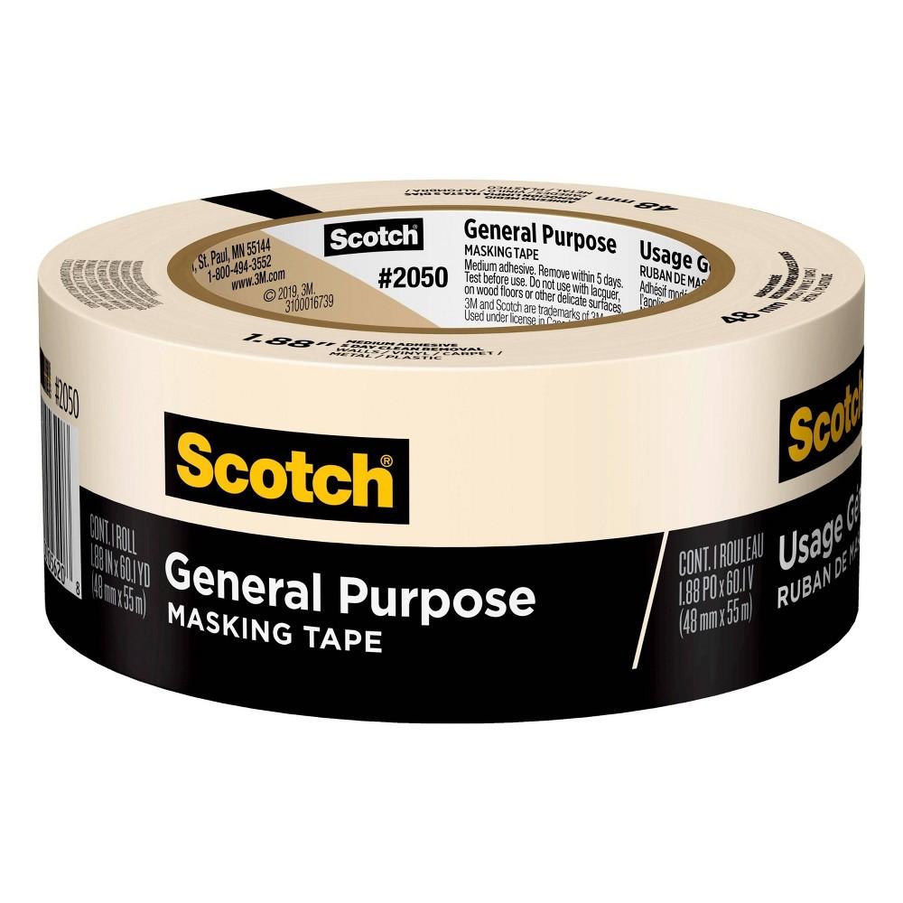Scotch 1 88 34 X 60yd Masking Tape