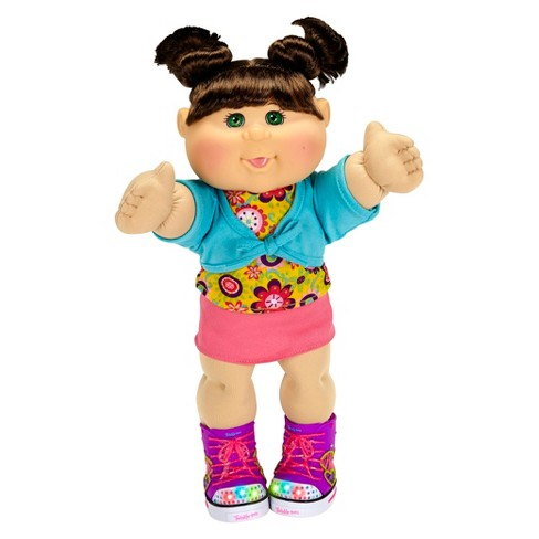 "Cabbage Patch Kids Twinkle Toes 14"" Kid, Brunette, Green Eyes, Caucasian - image 1 of 2"