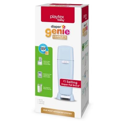 Diaper Genie Complete Assembled Diaper Pail - Blue