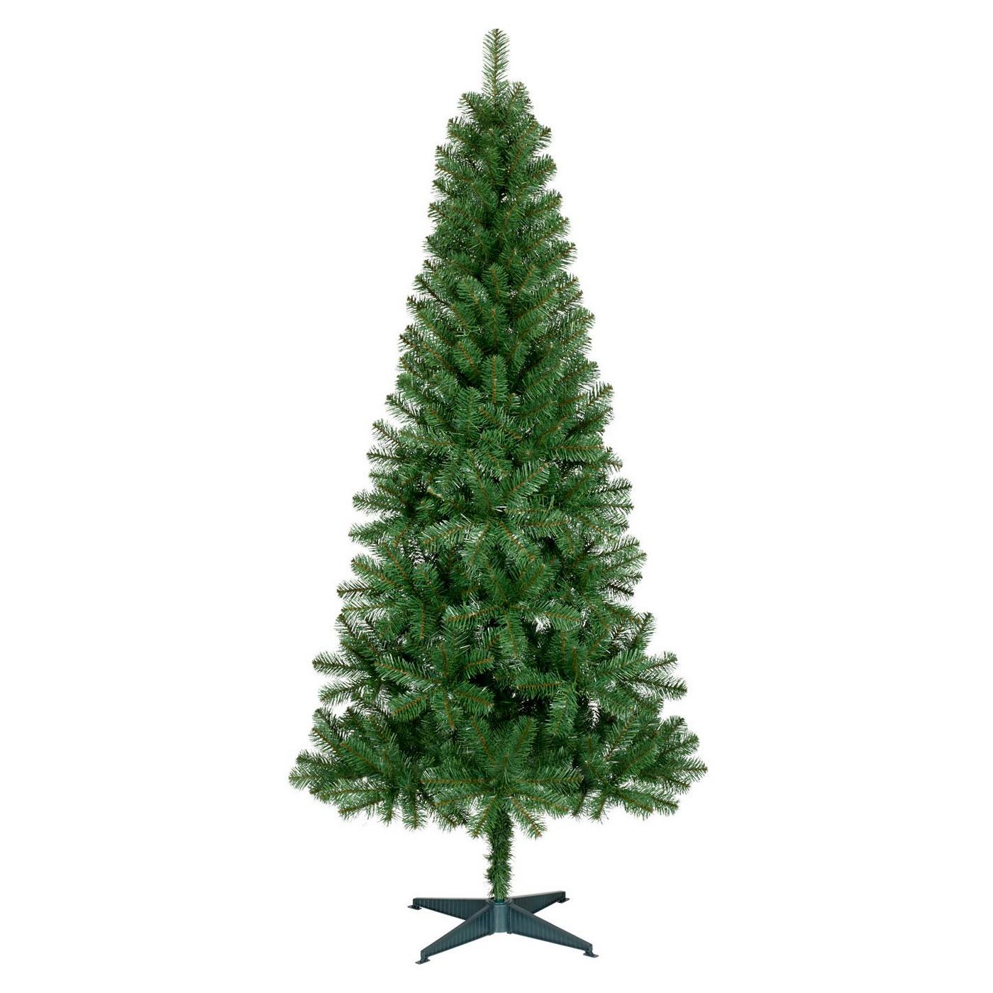 6ft Unlit Slim Artificial Christmas Tree Alberta Spruce - Wondershop™ - image 1 of 4