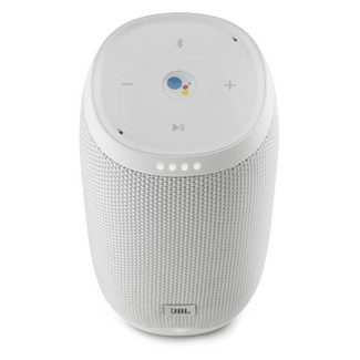 JBL Link 10 Portable Bluetooth Speaker with Google Assistant Built-in - White (JBLLINK10WHTUS)